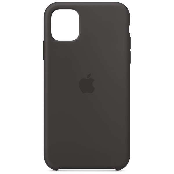【純正】iPhone 11 シリコーンケース ブラック