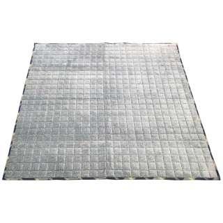 ラグ ビズ (200×240cm/ブルー)