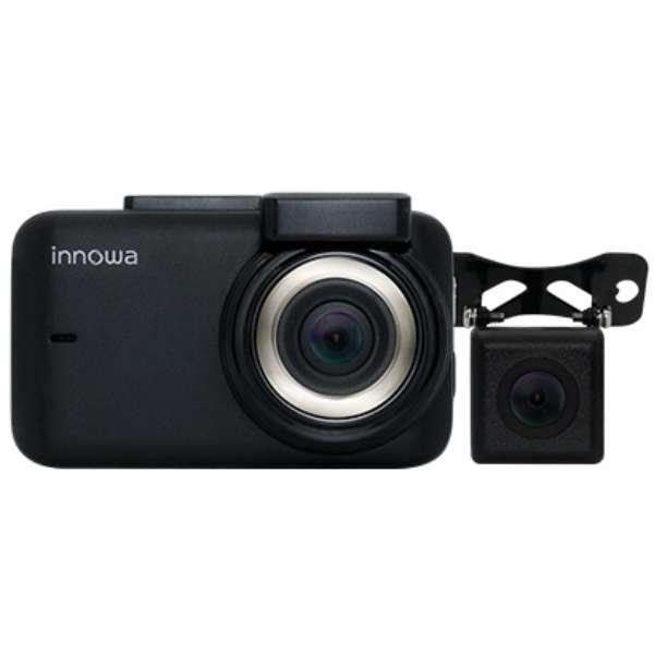 ドライブレコーダー innowa Journey Plus 9003 [一体型 /Full HD(200万画素) /前後カメラ対応 /駐車監視機能付き]