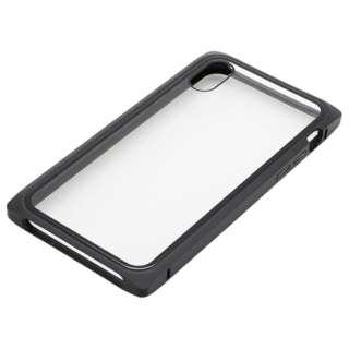 iPhoneXS・X用 マグネットアルミバンパー BMABC1814BK ブラック