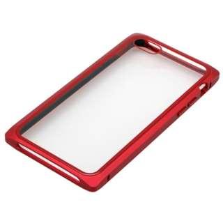 iPhone8・7用 マグネットアルミバンパー BMABC1815RD レッド