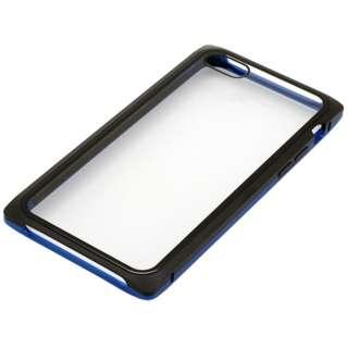 iPhone8・7用 マグネットアルミバンパー BMABC1815BLBK ブルーブラック