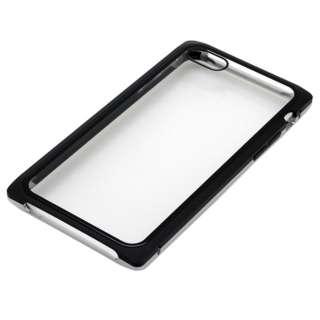 iPhone8・7用 マグネットアルミバンパー BMABC1815SVBK シルバーブラック
