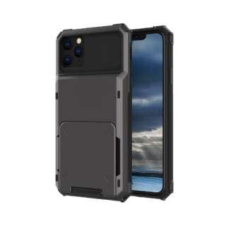 iPhone 11 6.1インチ C-TOOLS カードファイブ ブラック YHDCD519C-BK