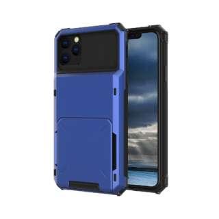 iPhone 11 6.1インチ C-TOOLS カードファイブ ブルー YHDCD519C-BU