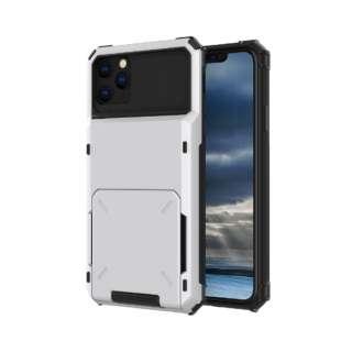 iPhone 11 6.1インチ C-TOOLS カードファイブ ホワイト YHDCD519C-WH