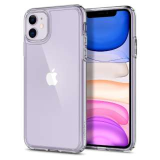 iPhone 11 6.1インチ Crystal Hybrid Crystal Clear