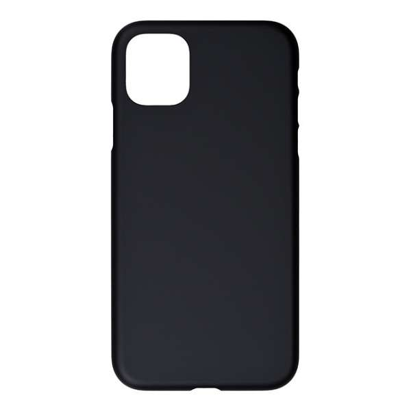 Air Jacket for iPhone 11 6.1インチ  Rubber Black PSSK-72