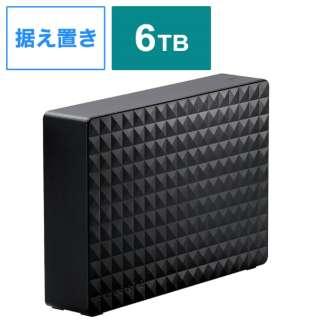 SGD-MY060UBK 外付けHDD タイムシフトマシン対応 Windows11対応 Expansion ブラック [6TB /据え置き型]