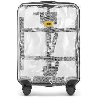 スーツケース S40L シェアコレクション TRANSPARENT CB141-50 [TSAロック搭載]
