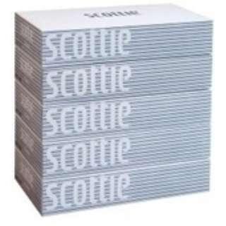 scottie(スコッティ) ティシュー 400枚(200組)×5箱パック
