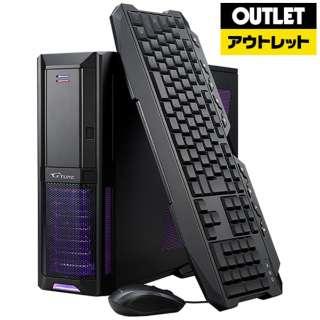 【アウトレット品】 ゲーミングデスクトップPC [Win10 Home・Core i7・HDD 1TB・SSD 240GB・メモリ 8GB・GTX1060] DKC787S241T106GTX 【数量限定品】