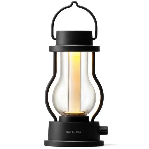 バルミューダ ザ・ランタン L02A-BK ブラック [LED /充電式]