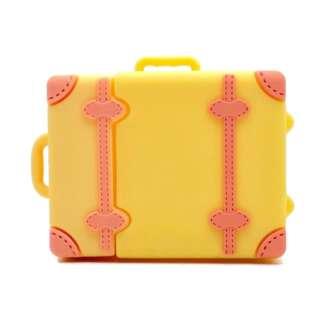 AirPodsケース トランクケース Yellow