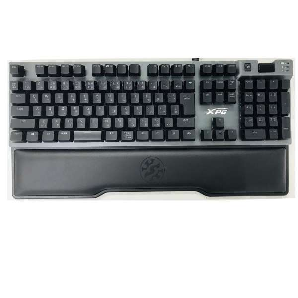 SUMMONER9B-BKCJP ゲーミングキーボード XPG Summoner RGB CHERRY MX 青軸 ガンメタルグレー [USB /有線]