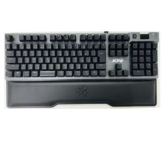 SUMMONER9C-BKCJP ゲーミングキーボード XPG Summoner RGB CHERRY MX スピードシルバー軸 ガンメタルグレー [USB /有線]