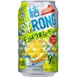 [数量限定] 氷結ストロング すっぱうまレモン (350ml/24本)【缶チューハイ】