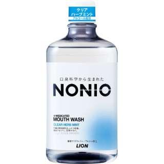 ノニオ(NONIO) マウスウォッシュ クリアハーブミント 1000ml