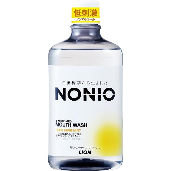 ライオン ノニオ NONIO ライトハーブミント ノンアルコールタイプ 1000mL