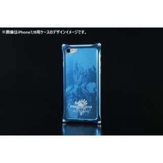 GILD design MONSTER HUNTER ソリッドバンパー+アルミパネル アイスボーン for iPhoneX/Xs 43029 ブルー