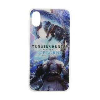 モンスターハンター ガラスケース イヴェルカーナ iPhoneX/Xs GCN-MHVE-C-TL ブルー