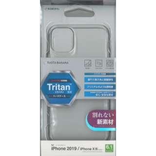 PB iPhone 11/XR トライタンケース BKS151IP961TR クリア