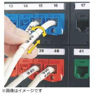 パンドウイット 熱転写ハンディプリンタ用回転ラベル 白 印字部25.4mmx19.1mm ラベル数75枚 R100X225V1C R100X225V1C