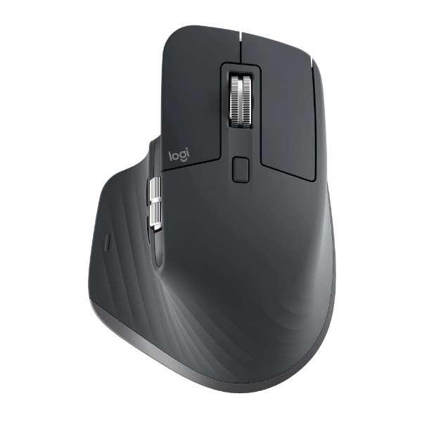 MX2200sGR マウス MX Master 3 グラファイト コントラスト [レーザー /7ボタン /Bluetooth・USB /無線(ワイヤレス)]