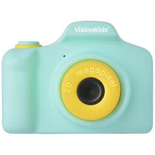 VisionKids HappiCAMU+ ハピカムplus 子供用カメラ Japanese グリーン