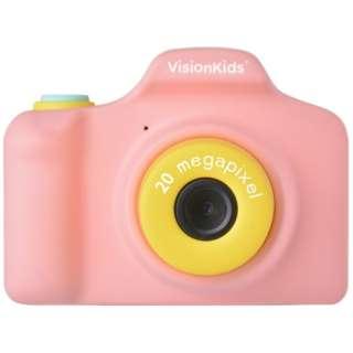 VisionKids HappiCAMU+ ハピカムplus 子供用カメラ Japanese ピンク