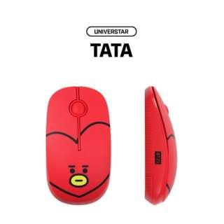 RMS-BT21-TT マウス BT21 TATA [光学式 /3ボタン /USB /無線(ワイヤレス)]