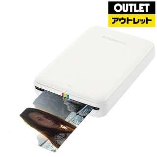 【アウトレット品】 モバイルフォトプリンター POLMP01W  ホワイト 【外装不良品】