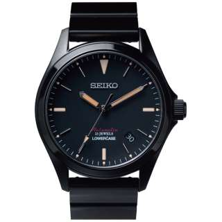 seiko wena wrist pro Mechanical set Premium Black  -LOWERCASE Edition- WNW-SB15AB seiko wena wrist pro Mechanical set Premium Black