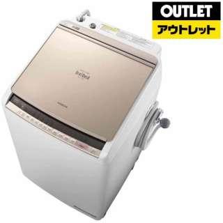 【アウトレット品】 縦型洗濯乾燥機 ビートウォッシュ [洗濯9.0kg /乾燥5.0kg /ヒーター乾燥 /上開き] BW-DV90C-N シャンパン 【生産完了品】