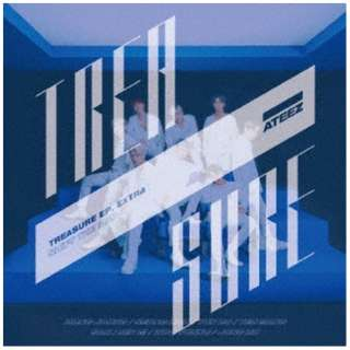 ATEEZ/ TREASURE EP. EXTRA:Shift The Map TYPE-A 【CD】