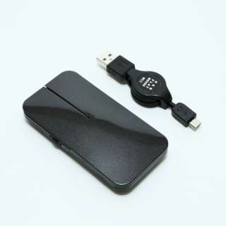 SRM-MA02/BK マウス 薄型 ブラック [BlueLED /3ボタン /USB /有線] SRM-MA02/BK [BlueLED /3ボタン /USB /有線]