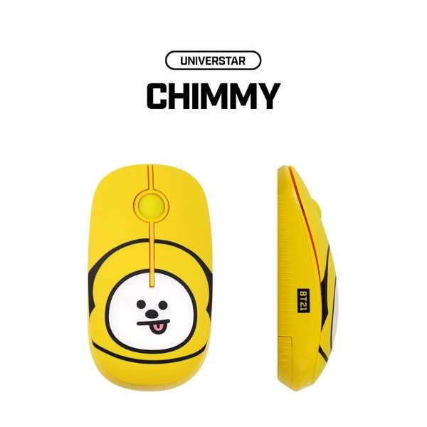 RMS-BT21-CM マウス BT21 CHIMMY [光学式 /3ボタン /USB /無線(ワイヤレス)]
