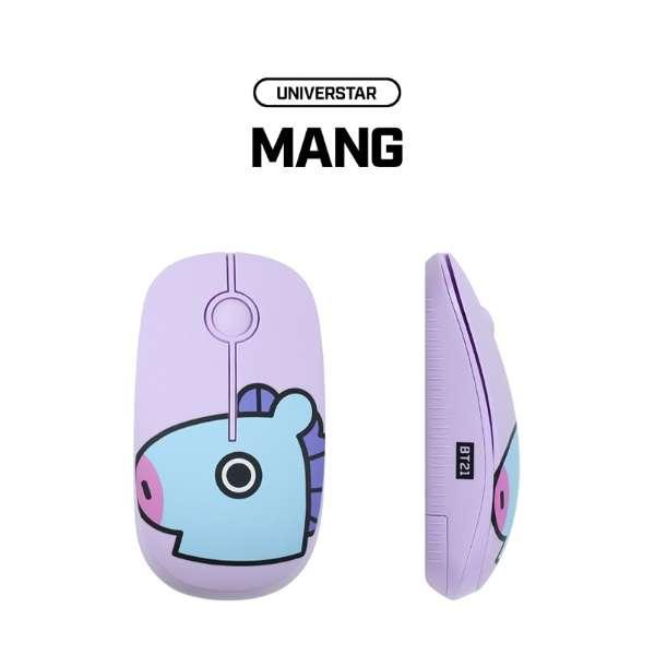 RMS-BT21-MG マウス BT21 MANG [光学式 /3ボタン /USB /無線(ワイヤレス)]