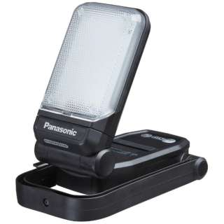 Panasonic 工事用 充電LEDマルチライト USB端子付き 黒 EZ37C4-B