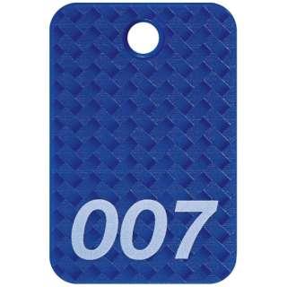 OP 番号札 四角 大 番号入り1~25 青 (25枚入) BF-80-BU