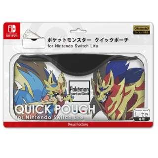 ポケットモンスター クイックポーチ for Nintendo Switch Lite レジェンド CQP-101-2 【Switch Lite】