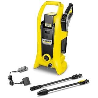 高圧洗浄機 K2 バッテリーセット 1.117-223.0 [50/60Hz]