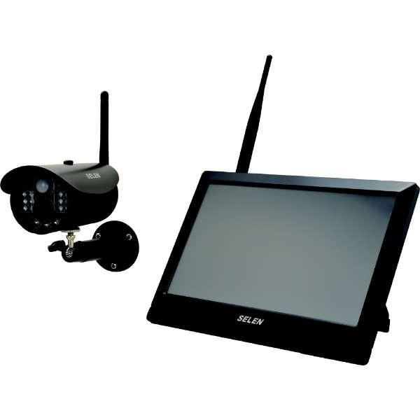 SWL-3000 フルハイビジョン対応 ワイヤレスカメラ+モニターセット