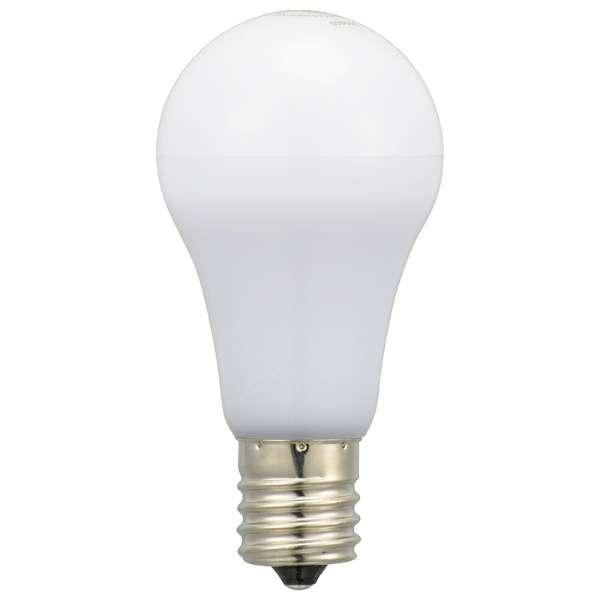 LED電球 小形 E17 60形相当 電球色 2個入り LDA6L-G-E17IH92-2