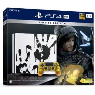 PlayStation 4 Pro DEATH STRANDING LIMITED EDITION CUHJ-10033 [ゲーム機本体]