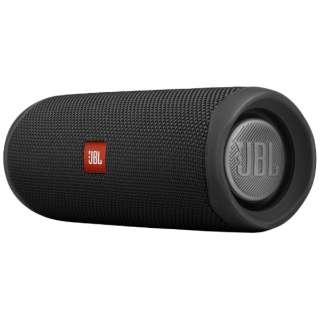 JBLFLIP5BLK ブルートゥース スピーカー Flip 5 ブラック [Bluetooth対応 /防水]