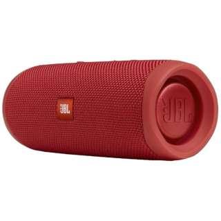 ブルートゥース スピーカー レッド JBLFLIP5RED [Bluetooth対応]