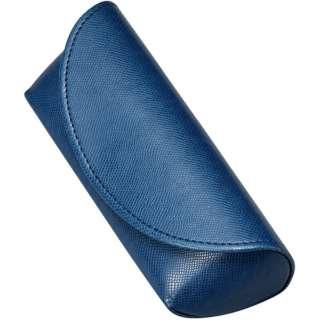 セミハード メガネケース(ブルー)2171-04