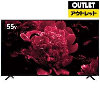 【アウトレット品】 液晶テレビ [55V型 /4K対応] OL55RD100 ブラック 【外装不良品】