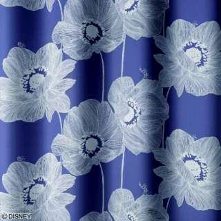 ドレープカーテン オオキイアネモネ(100×135cm/DB)
